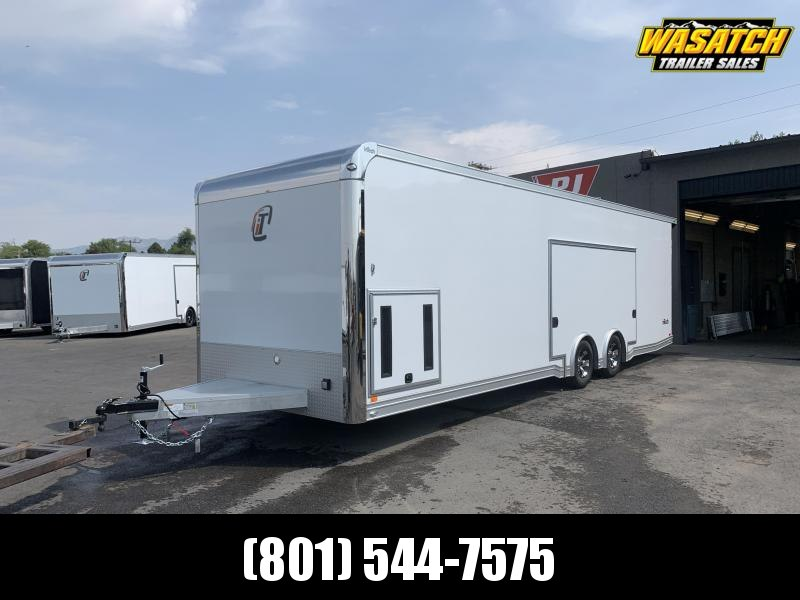 28' inTech iCon Aluminum Enclosed Car / Racing / Cargo Trailer