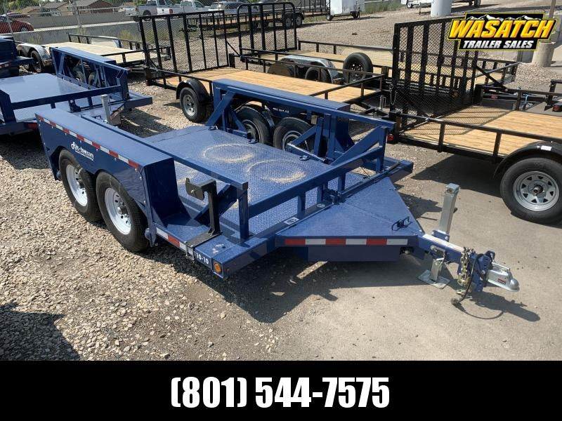 Air Tow Tandem Axle Ground-level Loading Flatbed (T10-10)