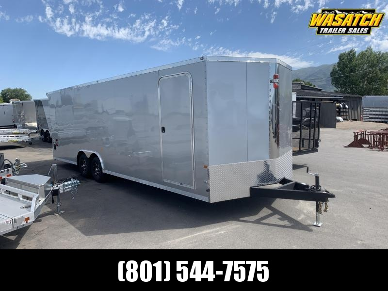 Charmac 100x26 Stealth Enclosed Cargo w/ UTV Package