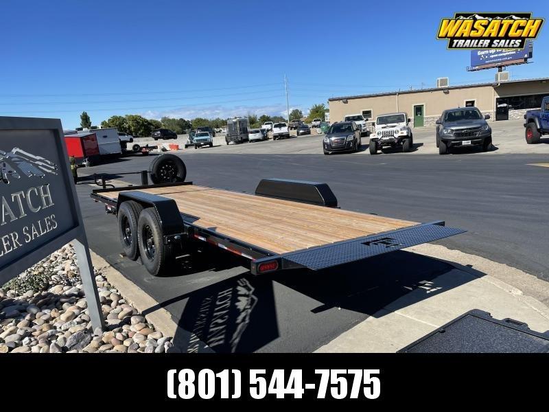 Teton - 7x20 - Tandem 8k - Tilt Equipment Trailer
