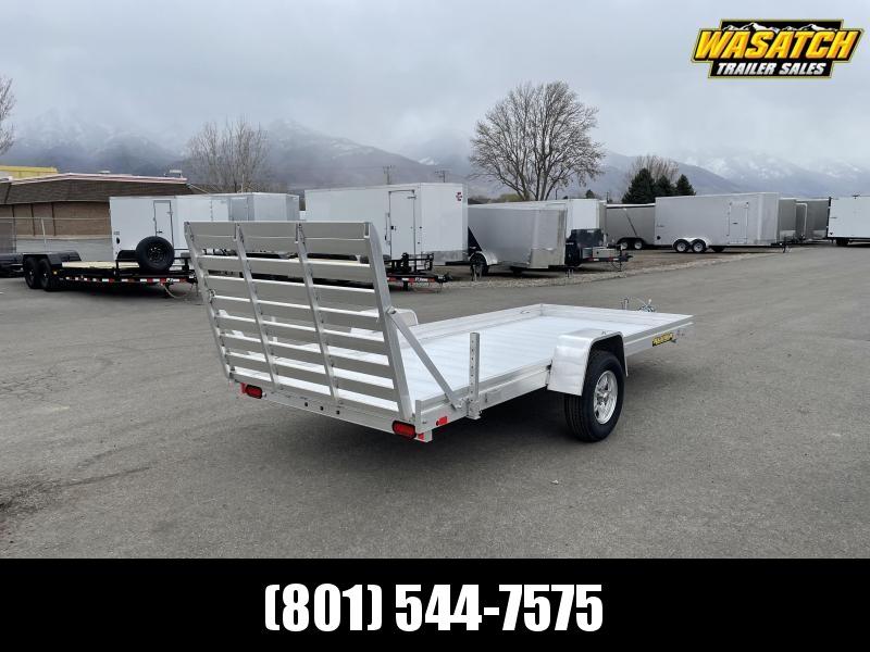 "Aluma 6814H (5'8""x14') Aluminum Utility Trailer"