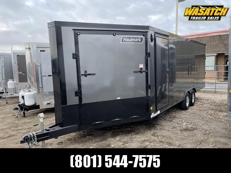 Haulmark 8.5x28 Steel Venture Snowmobile Trailer