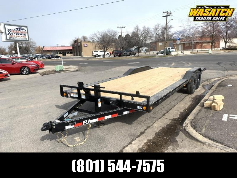 PJ 24' - 6 in. Channel Super-Wide (B6) Car / Racing Trailer