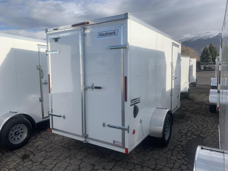 Haulmark 6x12 Passport Deluxe w/ Barn Doors Enclosed Cargo