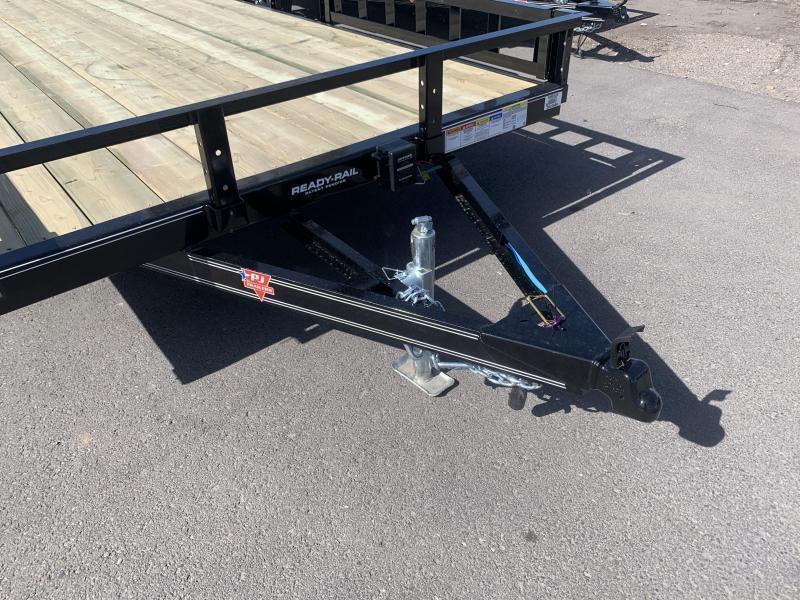 PJ 7x22 Tandem Channel Utility (UL) w/ ATV Ramps