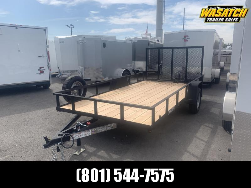 Charmac Trailers 7x14 Rugged Utility Trailer