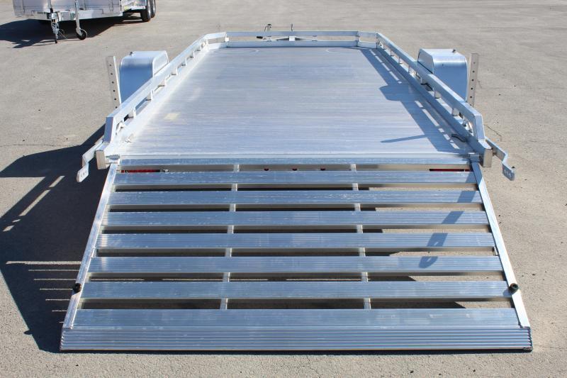"Aluma 78""x14' Aluminum Utility Trailer"