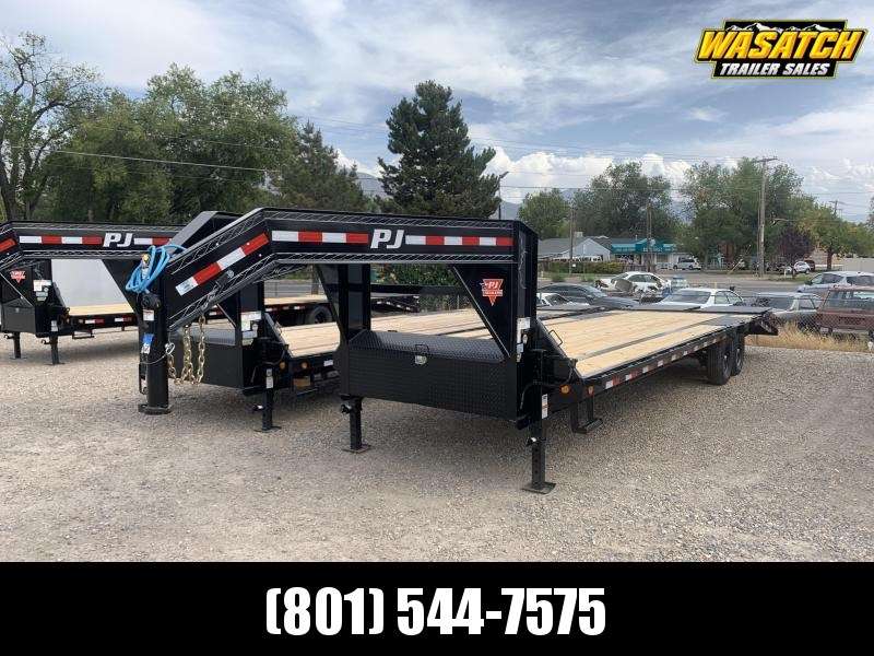 PJ 30' Flatdeck with Singles (LS) Flatbed / Equipment