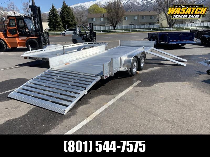 "Aluma 6'9""x18' (8118TASR) Aluminum Utility Trailer"