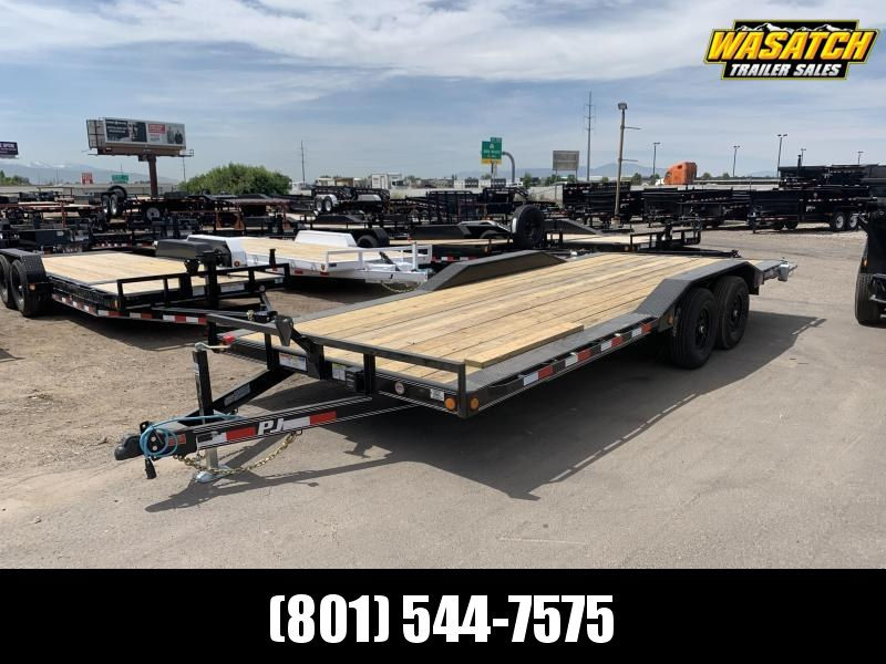PJ 20' - Channel Buggy Hauler (B5) Flatbed Trailer