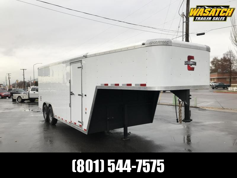 Charmac 20' Gooseneck Commercial Duty Enclosed Cargo