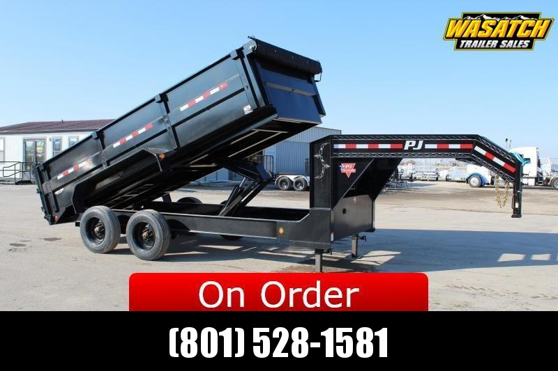***PJ Trailers 7x16 HD Low-Pro (DE) Dump Trailer 22k GVWR***