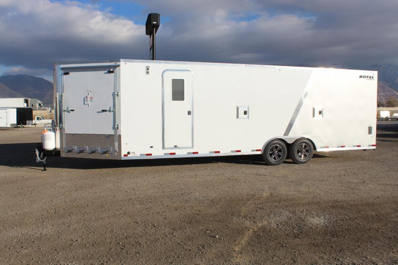Southland Trailers 85x29 Royal Snowmobile Trailer
