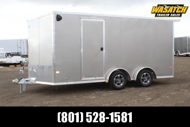 ALCOM 7.5x16 EzHauler Aluminum Enclosed Cargo Trailer