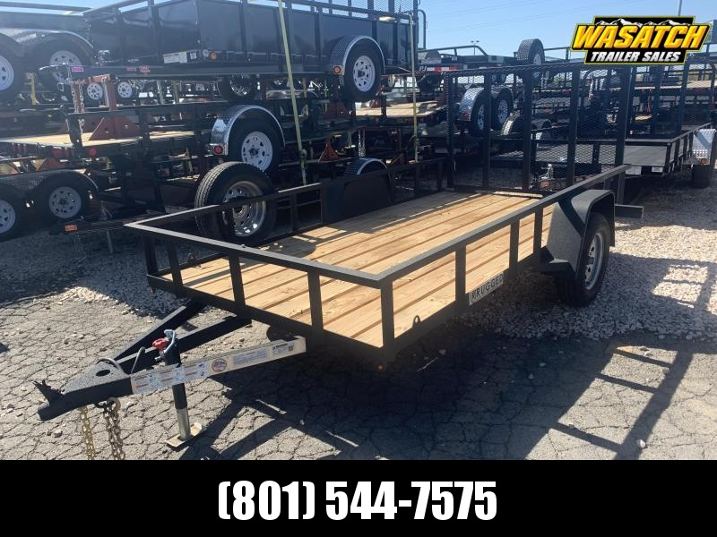 Charmac Trailers 6x12 Rugged Utility Trailer