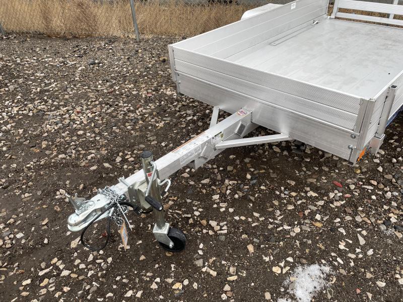 """Aluma 4.5x8 (548) Aluminum Utility w/ 12"""" Sides"""