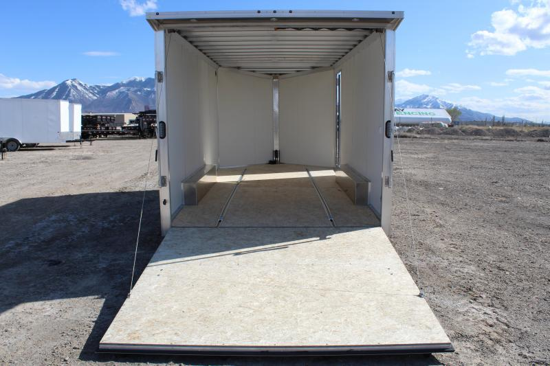EZ Hauler 8.5x16 Aluminum Enclosed Car / Racing Trailer