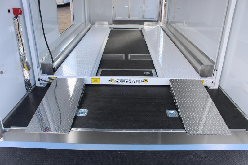 Haulmark 8.5x24 Aluminum Stacker Car / Racing Trailer