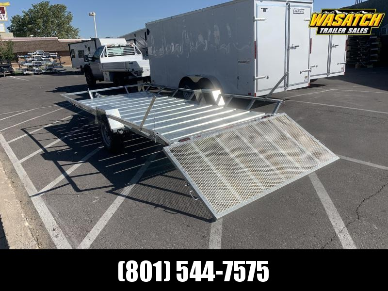 Echo 6x14 Elite Wide Galvanized ATV Trailer