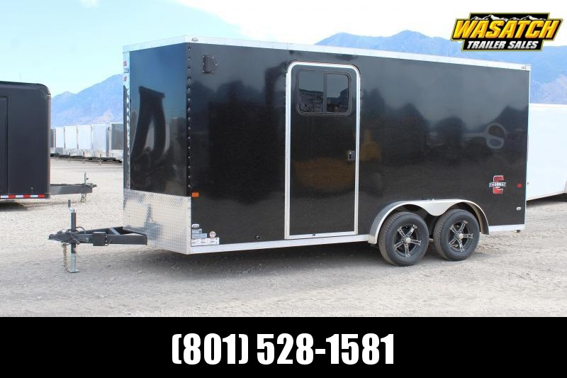 2020 Charmac Trailers 7.5x16 Stealth Enclosed Cargo Trailer