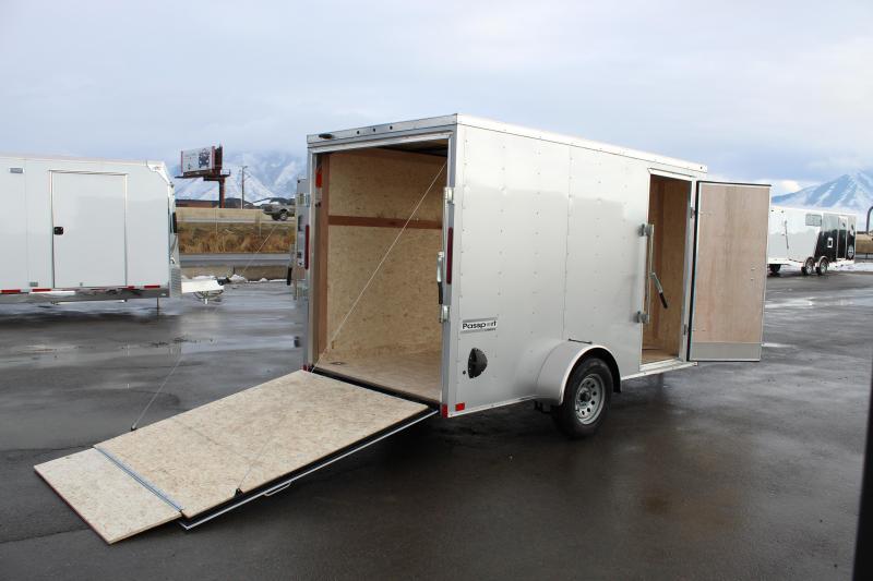 Haulmark 6x12 Passport Deluxe Enclosed Cargo Trailer