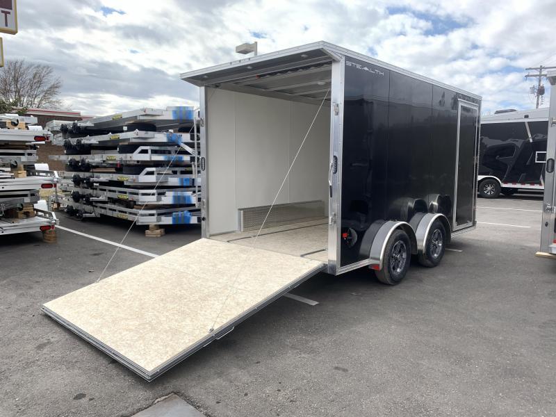 "Alcom-Stealth 7.5x14 Aluminum Cargo (7x14 +6""w)"