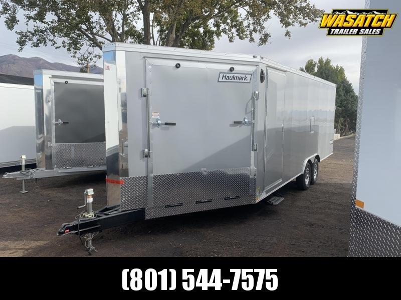 2021 Haulmark 8.5x28 Steel Venture Enclosed Snowmobile Trailer