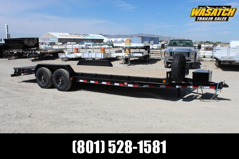 PJ Trailers 7x22 Channel (CC) Equipment Trailer
