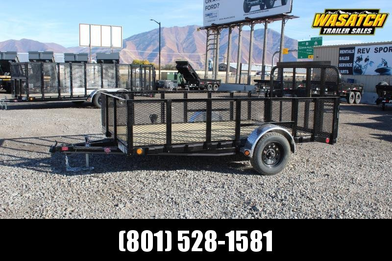 PJ Trailers 83x12 Single Axle Channel (U8) Utility Trailer