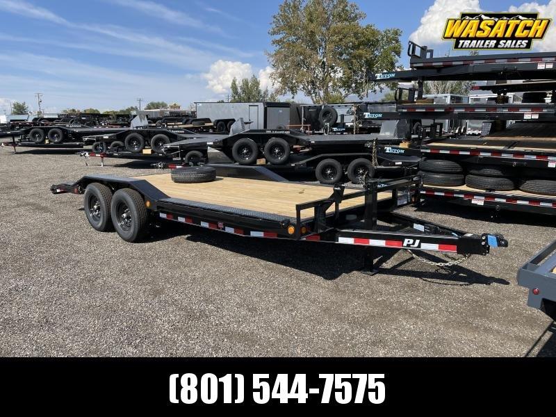 "PJ - B6 - 20' - 6"" Channel - Super-Wide Car Hauler / Equipment Trailer"