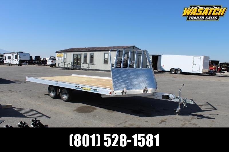 Aluma 8616 Aluminum Snowmobile Trailer