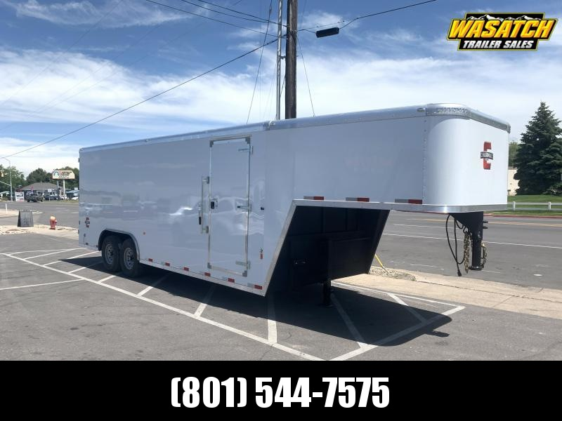 Charmac 22' Gooseneck Commercial Duty Enclosed Cargo