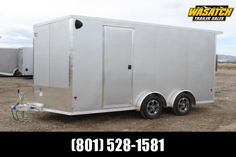 ALCOM 7.5x14 EzHauler Aluminum Enclosed Cargo Trailer