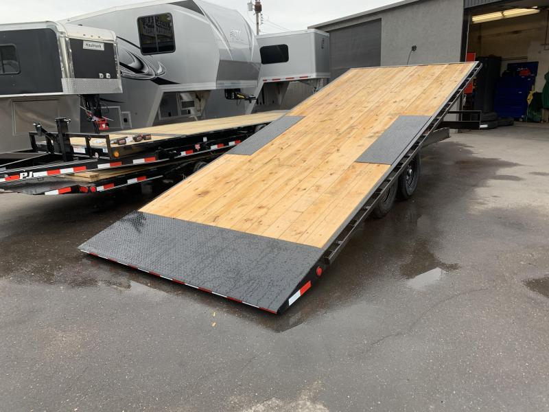 PJ 22' Deckover Tilt / Equipment Trailer