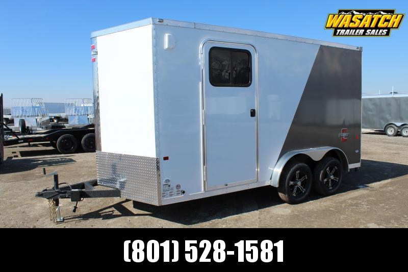 Charmac Trailers 7.5x14 Stealth Enclosed Cargo Trailer w/ UTV Package