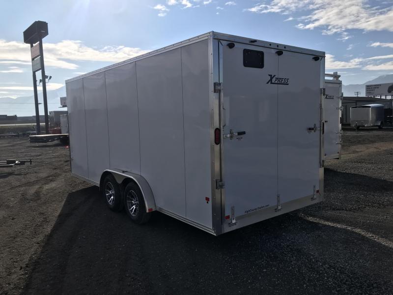 High Country 7.5x18 Xpress Enclosed Aluminum Cargo w/ V-nose