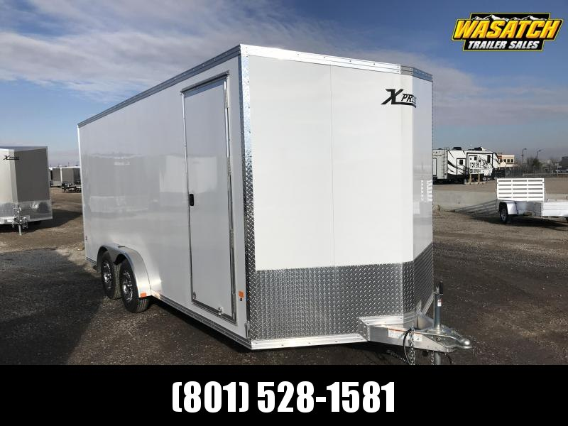 High Country 7.5x18 Xpress Enclosed Aluminum Cargo w/ V-nose