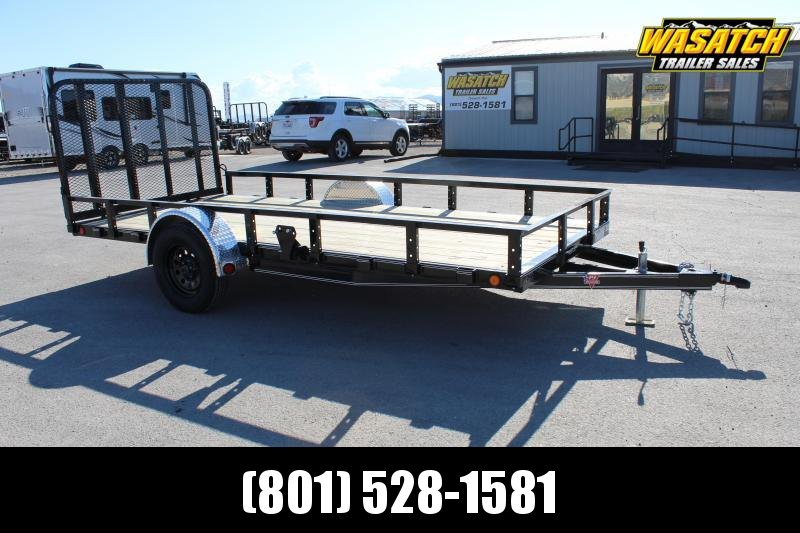 PJ Trailers 6.5x14 Single Axle Channel (U7) Utility Trailer