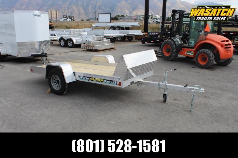 Aluma 8605T Aluminum Snowmobile Trailer