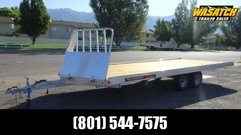 2020 Aluma 8620B Snowmobile Trailer