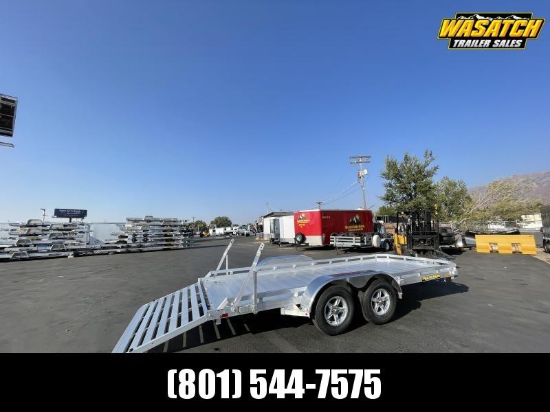 Aluma - 7816R - 6.5x16 - Tandem Utility Trailer