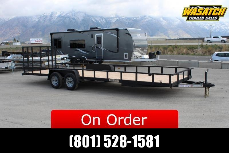 ***Charmac Trailers 7x26 Rugged Utility Trailer***