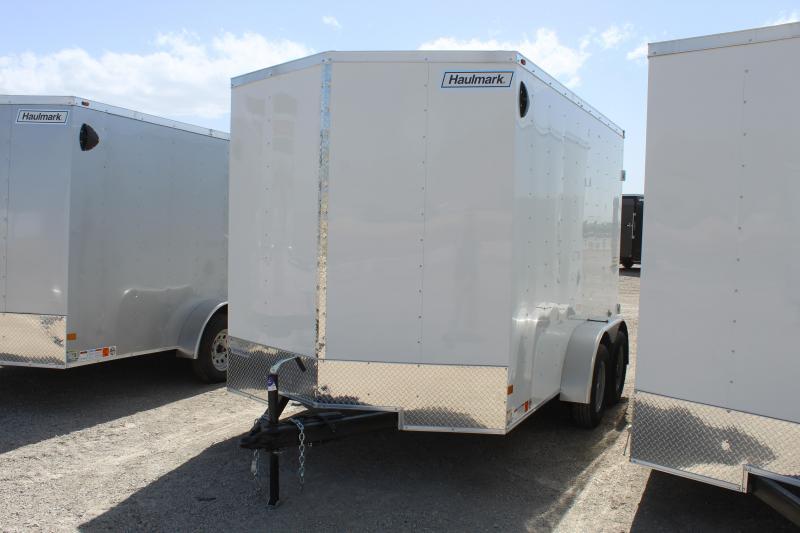 Haulmark 7x12 Passport Dluxe Enclosed Cargo Trailer
