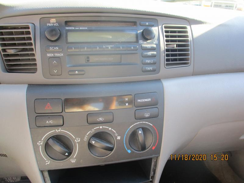 2004 Toyota COROLLA CE Car