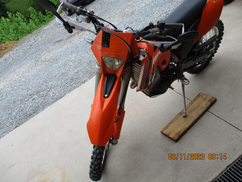 2005 KTM 525 EXC Motorcycle