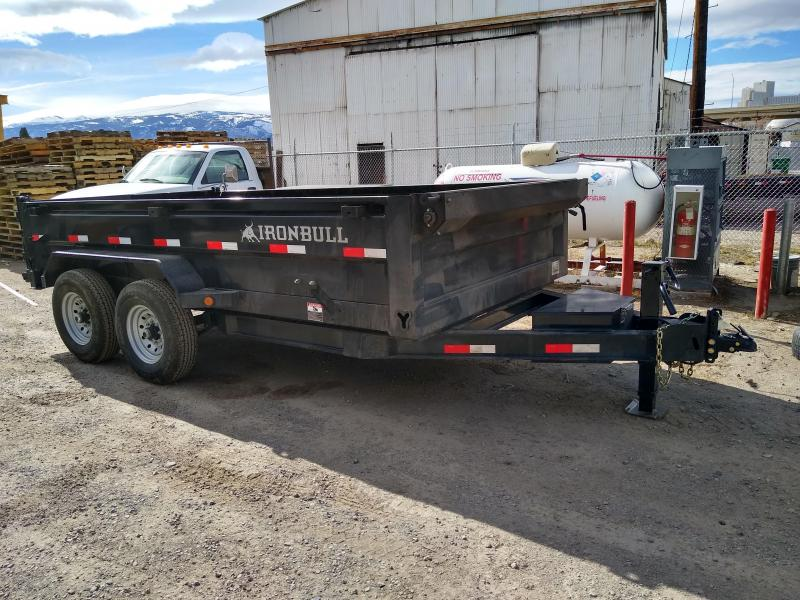2020 Iron Bull DT12 14000lb GVWR Tandem Axle Dump Trailer