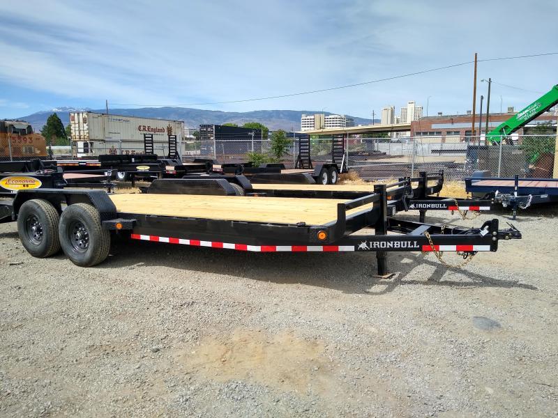 2020 Iron Bull EQ14 - 14000lb GVWR Tandem Axle Equipment Trailer