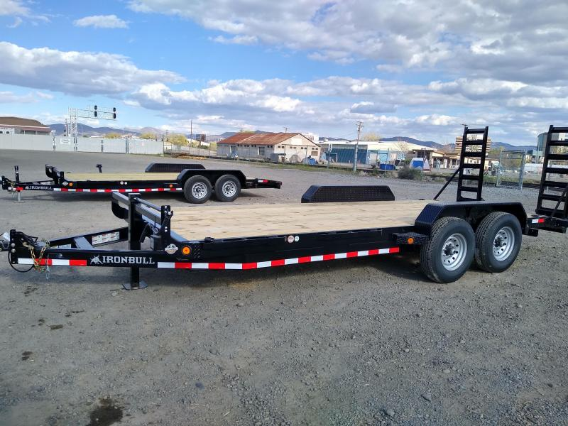 2022 Iron Bull EQ14 14000lb GVWR Tandem Axle Equipment Trailer