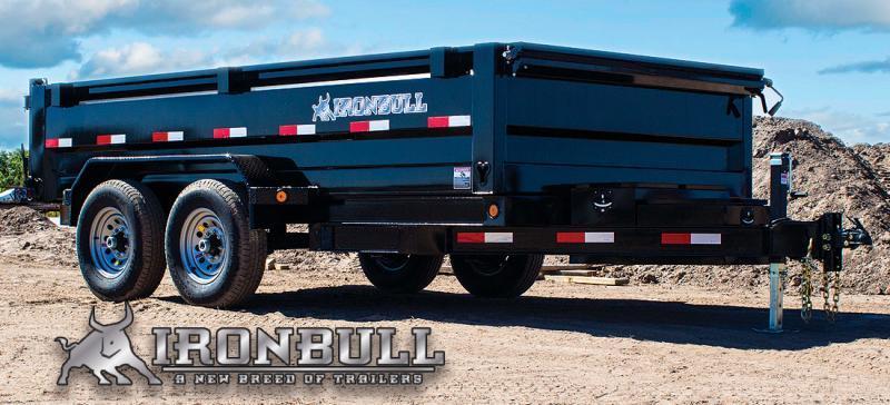 2022 Iron Bull DT14 14000lb GVWR Tandem Axle Dump Trailer