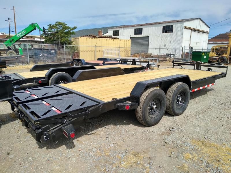 2021 Iron Bull EQ14 - 14000lb GVWR Tandem Axle Equipment Trailer